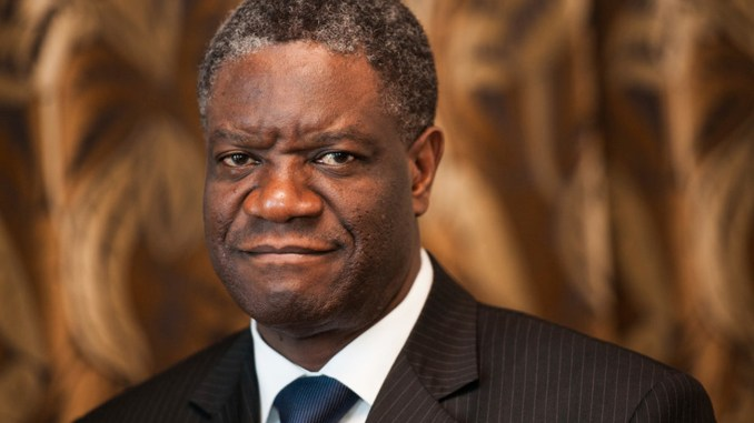 "Having treated more than 50,000 rape victims at Panzi Hospital in the Democratic Republic of Congo, Dr. Denis Mukwege is known as ""the man who mends women."""
