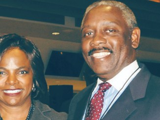 Congresswoman Val Demings and soon to also serve as Orlando Florida First Lady, and Sheriff Jerry L. Demings first African-American Sheriff of Orange County and first African-American Mayor of Orange County. (Photo by Frank M. Powell, III)