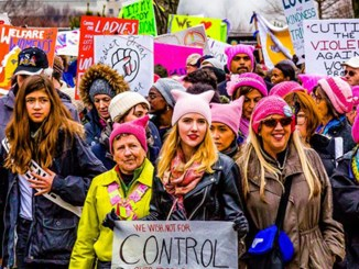 Women's March in Washington D.C., Photo Date: January 21, 2017