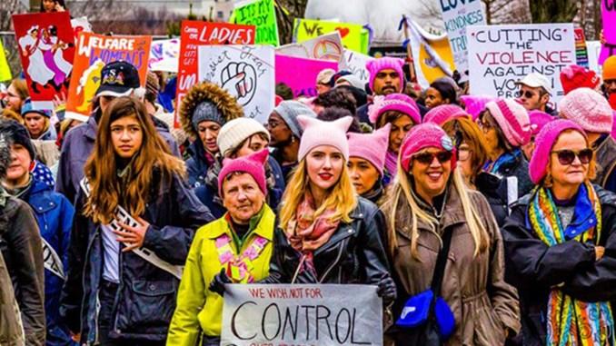 Women's March in Washington D.C., Photo Date: January 21, 2017