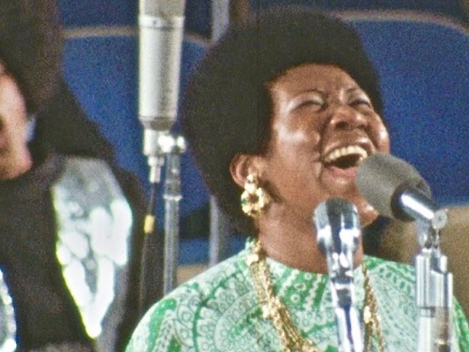 In Amazing Grace, Aretha is a conduit who channels a spirit from above into the hearts of those who listen. With the premiere and distribution of this film, she can do that for eternity. (Photos courtesy of Al's Records and Tapes)