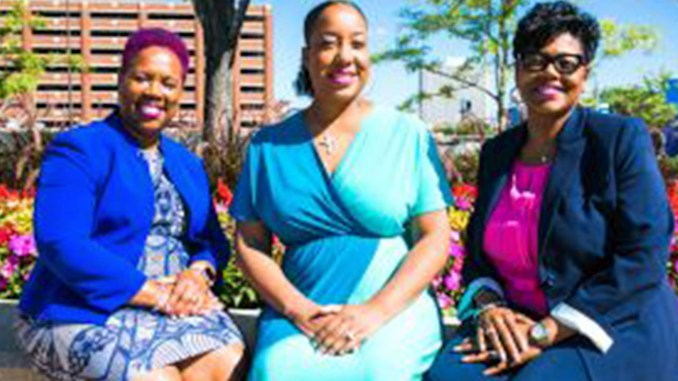 SisterFriends Ambassadors: April Hill, Takecia Griffin, and Cynthia Williams
