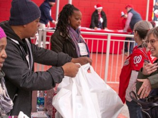 The Washington Nationals organization holds its annual Winterfest at Nationals Park in southeast D.C. on Dec. 1-2. A toy drive for the event was co-sponsored by Washington Informer Charities. (Mark Mahoney/The Washington Informer)