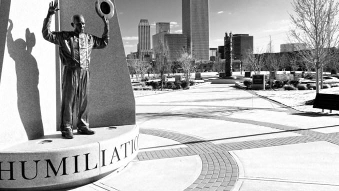 UU World John Hope Franklin Reconciliation Park in Tulsa, Oklahoma.