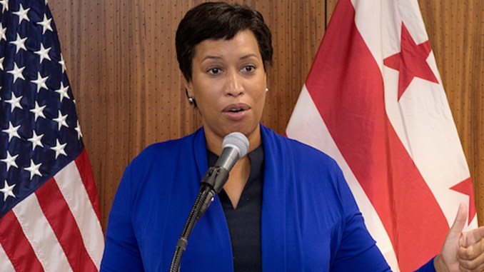 D.C. Mayor Muriel Bowser (Courtesy of the Mayor's Office)