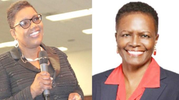 Mayor Karen Freeman-Wilson and LaVetta Sparks-Wade (Photo by: chicagocrusader.com)