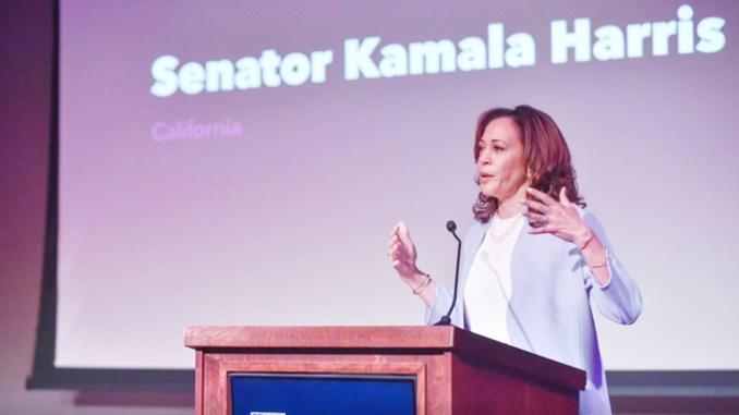 U.S. Senator Harris re-introduced the Ensuring Diversity Leadership Act.