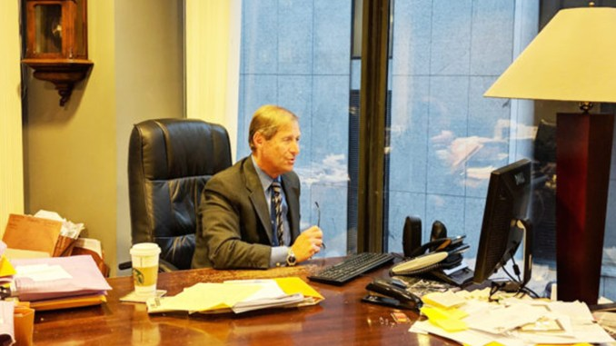 Attorney Steve Seidman pictured above in his law office was the recent guest on the America's Heroes Group radio talk show with Vietnam veteran and radio talk show personality Cliff Kelley. Seidman, who is also an advisory board member of America's Heroes Group, will be joining Cliff Kelley for a monthly discussion on law.
