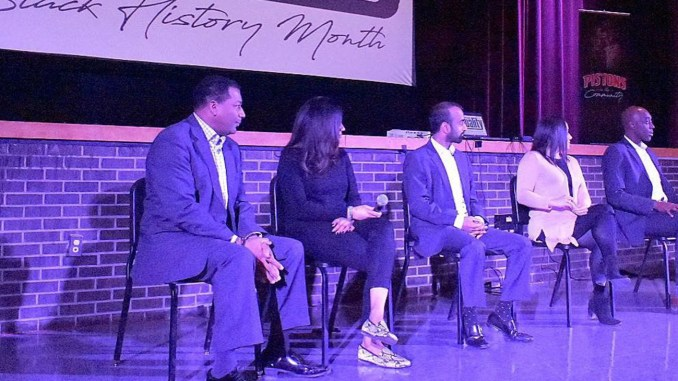 The Detroit Pistons Sports Seminar was held for the first time at Detroit Martin Luther King Jr. Senior High School. (Photo by: Michigan Chronicle)