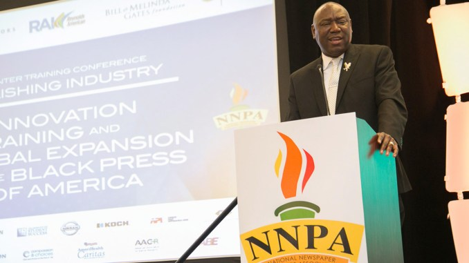 """""""Once you get a felony conviction, your life is practically ruined based off of the current laws on the books in many states,"""" said nationally-recognized civil rights attorney Benjamin L. Crump while speaking to attendees and members of the Black Press at the National Newspaper Publishers Association (NNPA) Mid-Winter Training Conference last week in Orlando. """"It is as if you are walking dead, but they just haven't given you the death certificate."""""""
