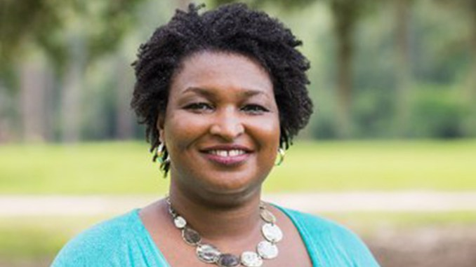 Stacey Abrams (Image source: Twitter – @staceyabrams).
