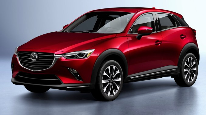 As tested it was $29,625, which at first I thought was a little pricey. But then I went back over the CX-3 equipment and thought that it is a small crossover with plenty of stuff. Things like all-wheel-drive, a heated steering wheel, blind spot monitoring and lane departure alert made it well worth the price.