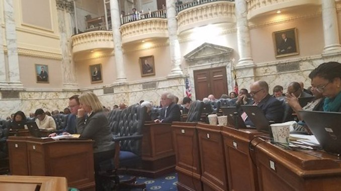 Lawmakers listen to testimony on aid-in-dying legislation in the Maryland House of Delegates on March 7. (William J. Ford/The Washington Informer)