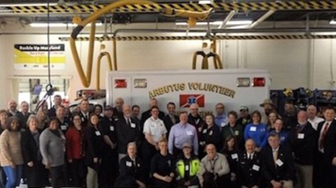 More than $272,000 is awarded to area nonprofit organizations at BGE's Emergency Response and Safety Grants ceremony held at the Arbutus Volunteer Fire Department in Baltimore County. (BGE photo)
