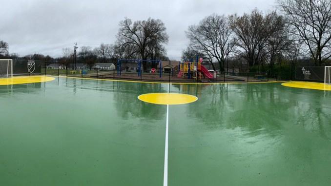 Nashville's first mini-pitch soccer field.
