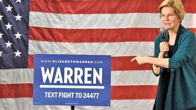 "Declaring a need for ""big, systematic change in this country,"" U.S. Elizabeth Warren advocated a constitutional amendment that guarantees every voter's vote is counted. (Photo Gary S. Whitlow/GSW Enterprises for The New Tri-State Defender)"