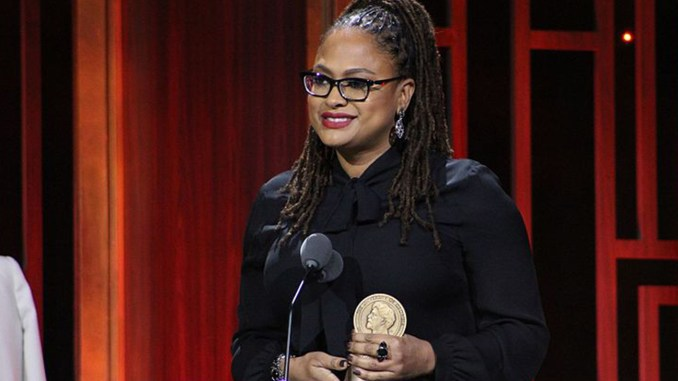 Ava DuVernay from 13th accepting her award during The 76th Annual Peabody Awards Ceremony at Cipriani, Wall Street on May 20, 2017 in New York City. (Photo by: Stephanie Moreno/Grady College of Journalism and Mass Communications | Wiki Commons)