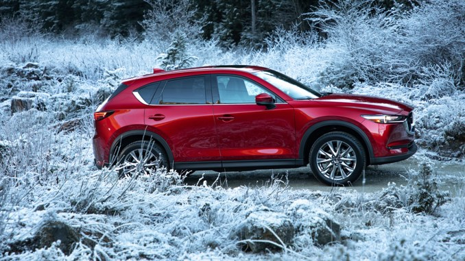 The bigger the Mazda the sleeker the look; thus, with the CX-5, a midsize crossover, the smooth flowing design was more distinct. But there was far more to the experience of the 2019 Mazda CX-5 than the way it looked. (Photo: Frank Washington / AboutThatCar.com
