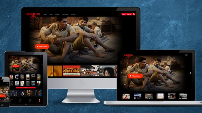 Rootflix is available for online streaming with a monthly subscription of $5. Filmmakers, email info@rootflix.com for submissions.
