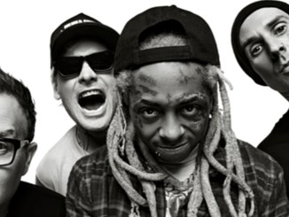Blink-182 and Lil Wayne (Center)