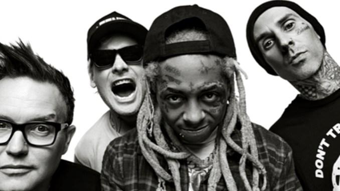 Blink-182 and Lil Wayne (Center)