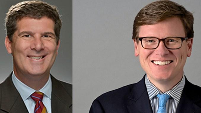 (l-r) Councilman Bob Mendes and Charles Robert Bone