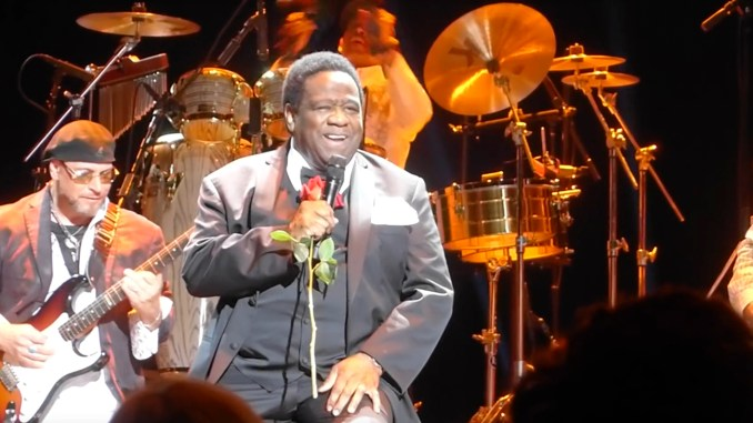 Photo: Al Green in concert (YouTube Screen Capture)
