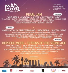 BRMC to play Mad Cool Festival and Lollapalooza Paris (Europe) 2