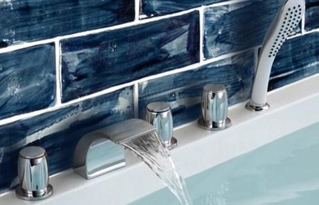 """Navy blue wash glaze 3""""x 8"""""""