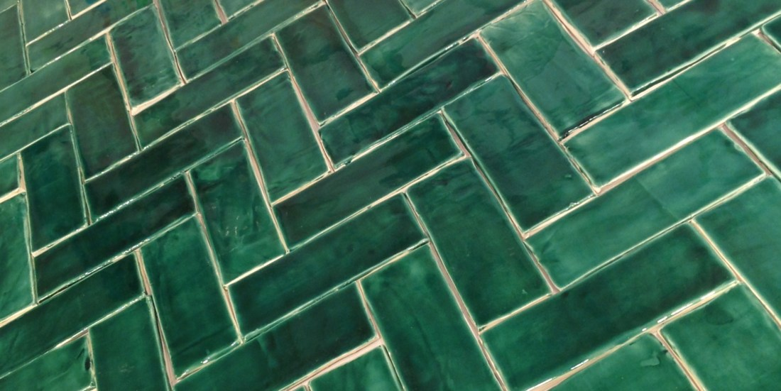 Emerald Green Tiles Black Rock Studios