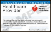 American Heart Association Healthcare Provider
