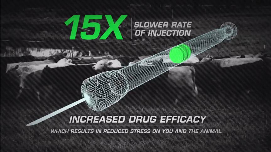 Pneu-Dart Slow Inject