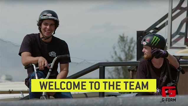 G-Form Athletes: BMX Stars Colton Walker and Kevin Peraza