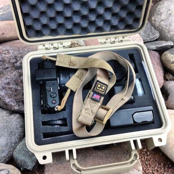 Pelican Case W/E9 Tactical Strap