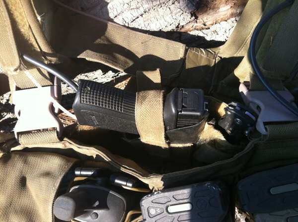 Built in Chest Rig Holster