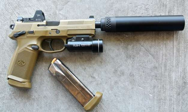 FNP-45 & GEMTECH Blackside .45 Suppressor