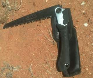 SOG Folding Camping Saw F10 Review