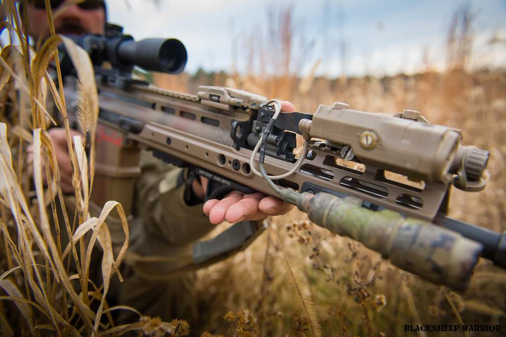 Kinetic Development Group has just announced the SCAR Rail