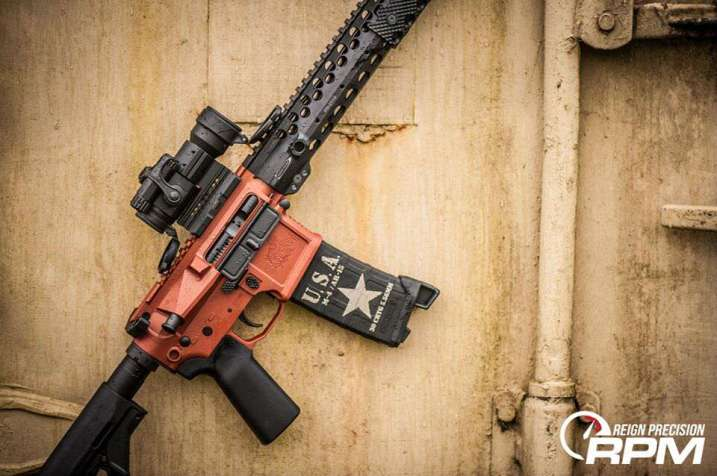 San tan Tactical STT-15 By Reign Precision