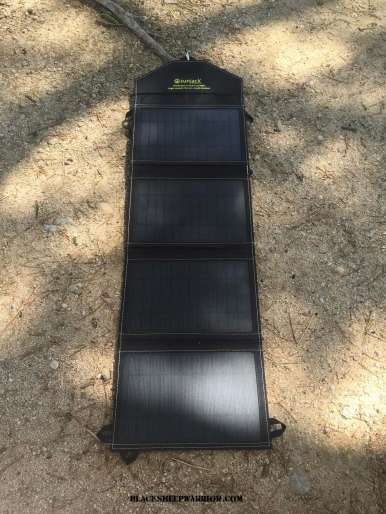 SunJack 14W Solar Panel Charger