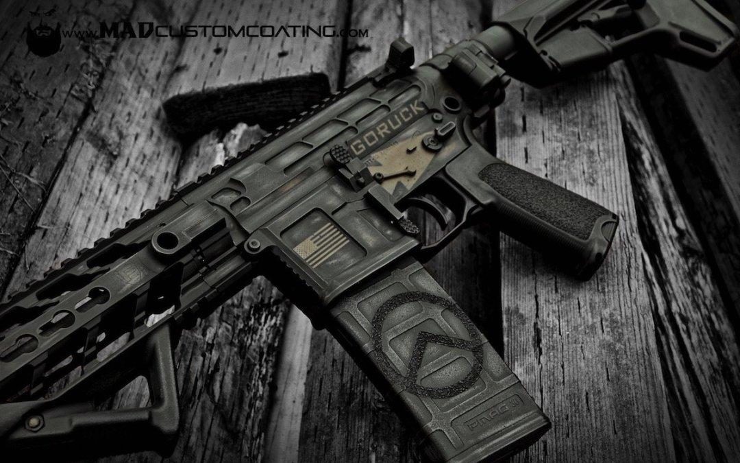 Free Mad Custom Pistol or Rifle Coating