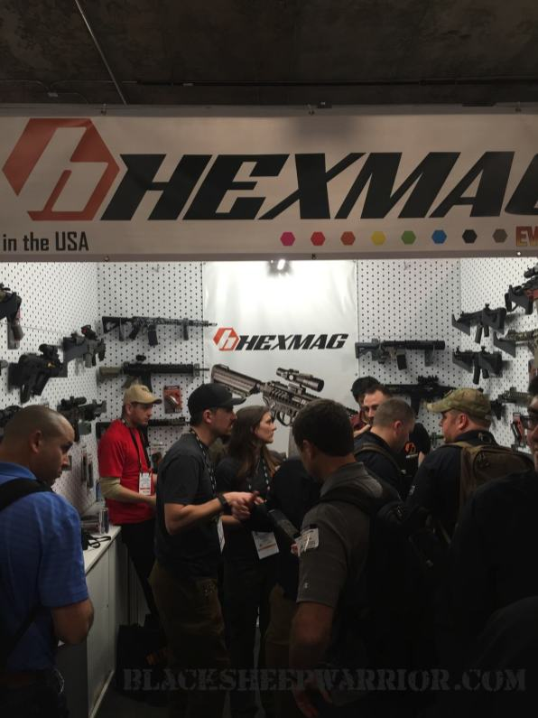 Kaiser US and Hexmag were cool enough to feature our Megiddo M-LOK Covers on a demo rifle!