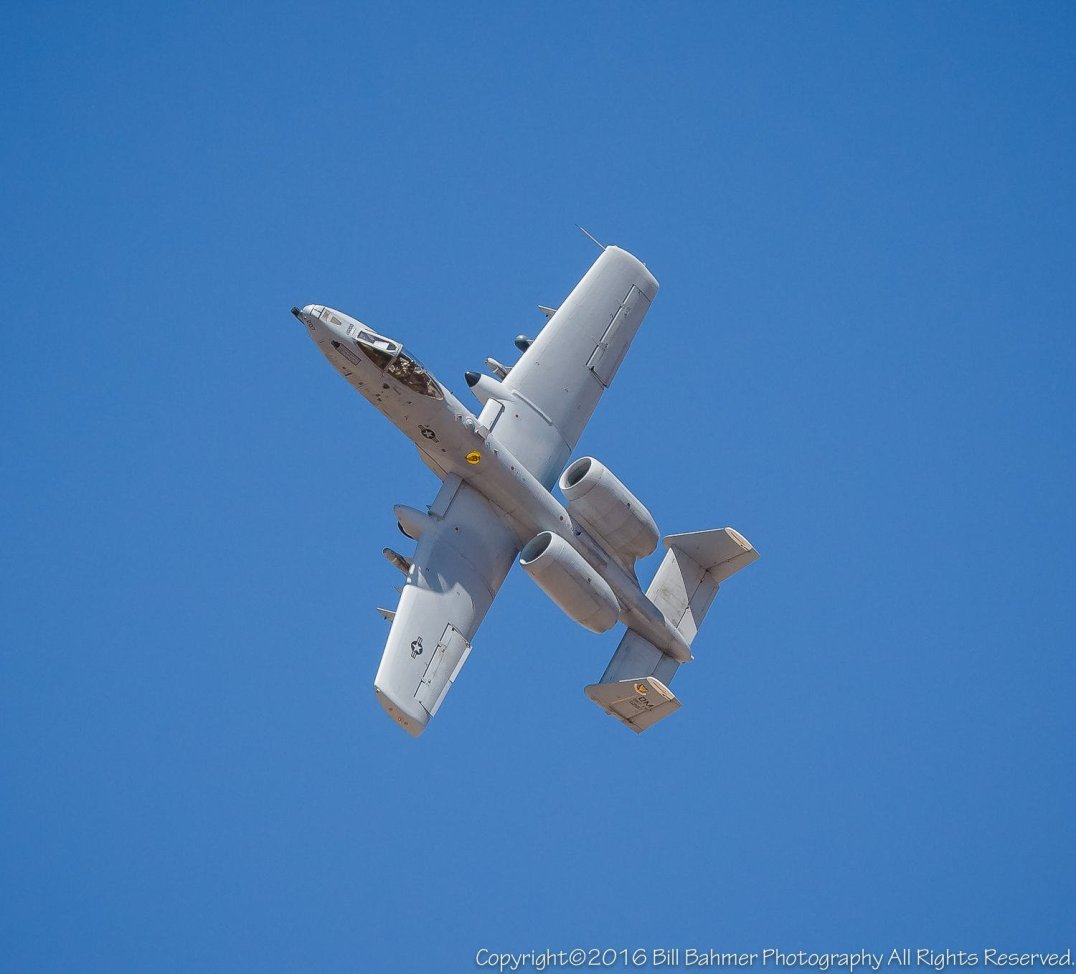 A-10 over Tucson