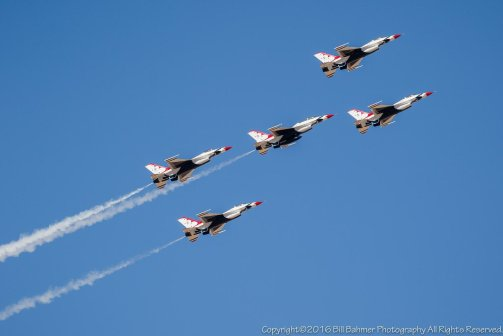Thunderbirds over Tucson 2016