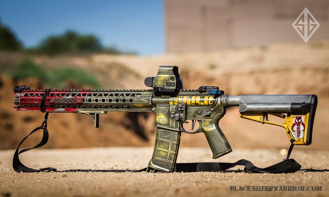 Boba Fett Rifle