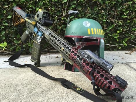 Boba Fett Rifle pictures