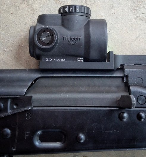 Attero Arms mounts offer a low profile solution for both purists and the most operational of operators