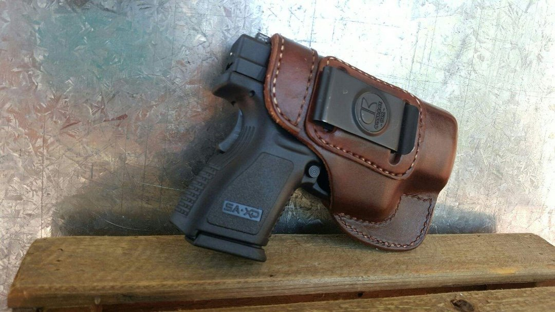 OUTBAGS Leather IWB Holster
