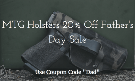 MTG Holsters 20% off Father's Day Sale