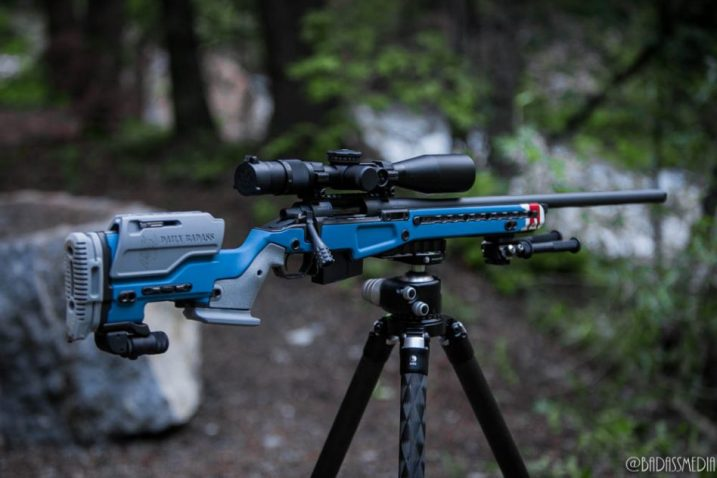 Really Right Stuff Carbon Fiber tripod With 6.5 Creedmoor